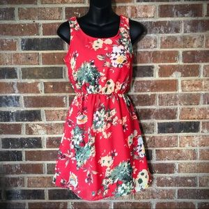 2/$10 or 5/$20 * Indulge Floral Dress - Size S